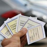 Tagliandini dell'assicurazione auto