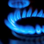 fornelli del gas accesi