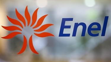 Il logo di Enel energia e gas