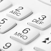 Tastiera di telefono fisso