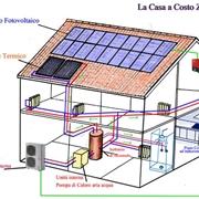 Un esempio di casa alimentata da fonti rinnovabili