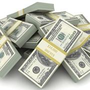 Immagine di mazzette di dollari