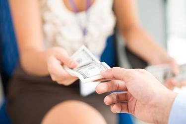 Banconote ricevute in prestito