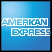 Il logo della carta di credito American Express