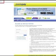 Pagina di accesso postepay on line