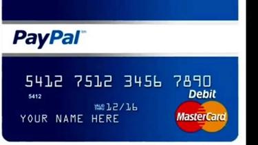 La carta prepagata Paypal