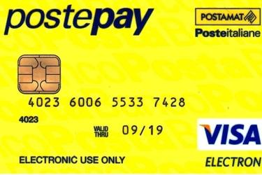 Un esempio di Postepay