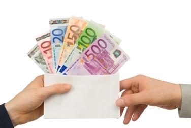 Scambio di denaro in euro