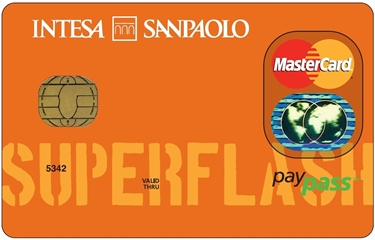 La carta super flash di Banco di Napoli Intesa San Paolo